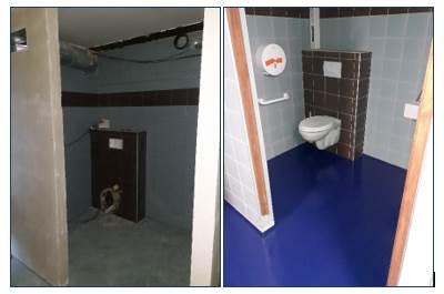 Rénovation des sanitaires vestiaires du port de plaisance de FECAMP